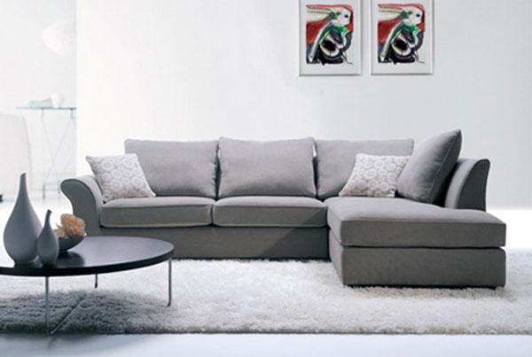 Seccionales muebles de sala Muebles en l para sala