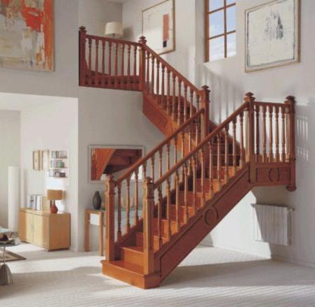 Escaleras de madera y barandas juegos de sala a medida - Barandas de madera para escaleras ...