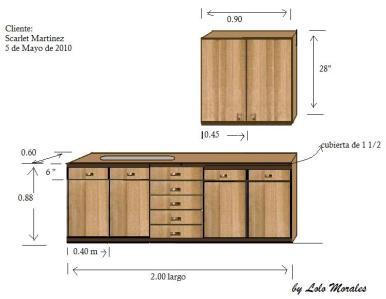 Portafolio de proyectos juegos de sala a medida for Medidas de gabinetes de cocina